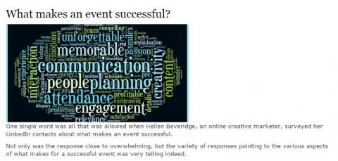 Private Personal Assistant Key Factors for a Successful Company Event
